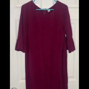 Stunning burgundy dress